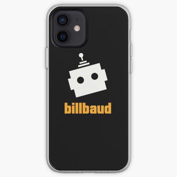 BillBaud Black Background iPhone Soft Case