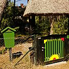 MVP88 Gate to a summer house, Prerow, Germany. by David A. L. Davies