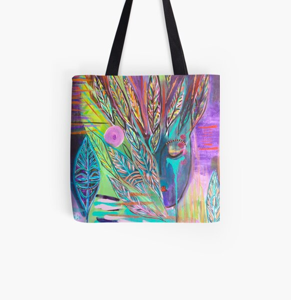 Finding Equanimity All Over Print Tote Bag