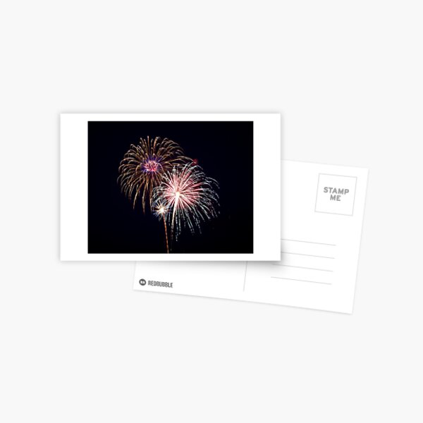 2011 Wolfeboro Fireworks I Postcard