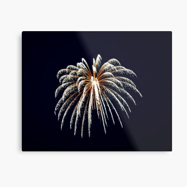 2011 Wolfeboro Fireworks III Metal Print