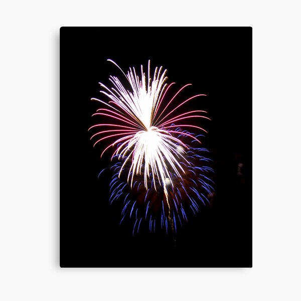 2011 Wolfeboro Fireworks VI Canvas Print