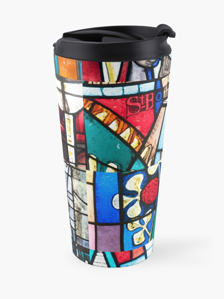 Alternate view of Coventry Cathedral Macro Images Travel Mug