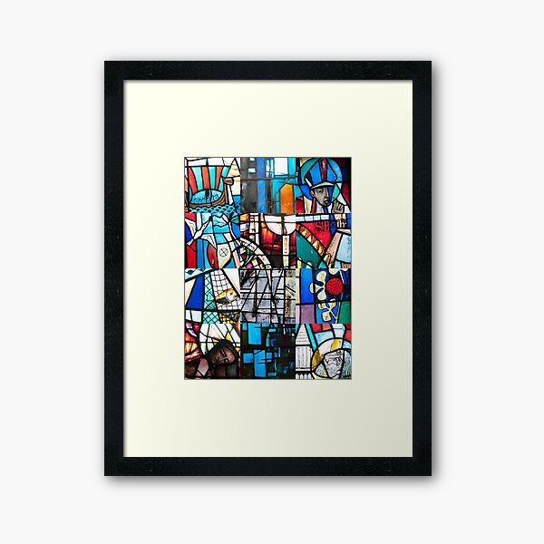 Coventry Cathedral Macro Images Framed Art Print