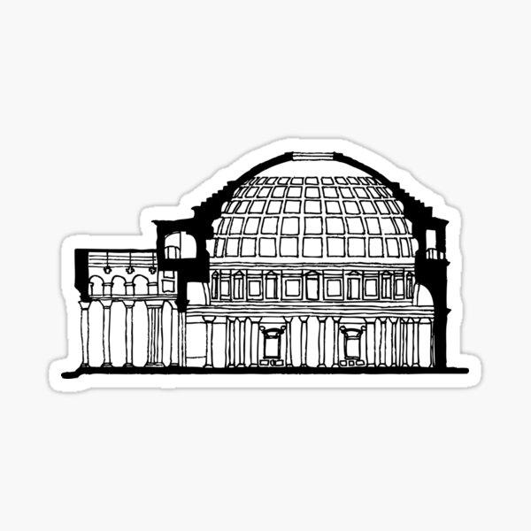Pantheon Rome  Sticker