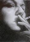 DreddArt Sketch by Chelsea Kerwath