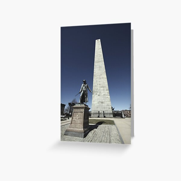 Bunker Hill Monument Greeting Card