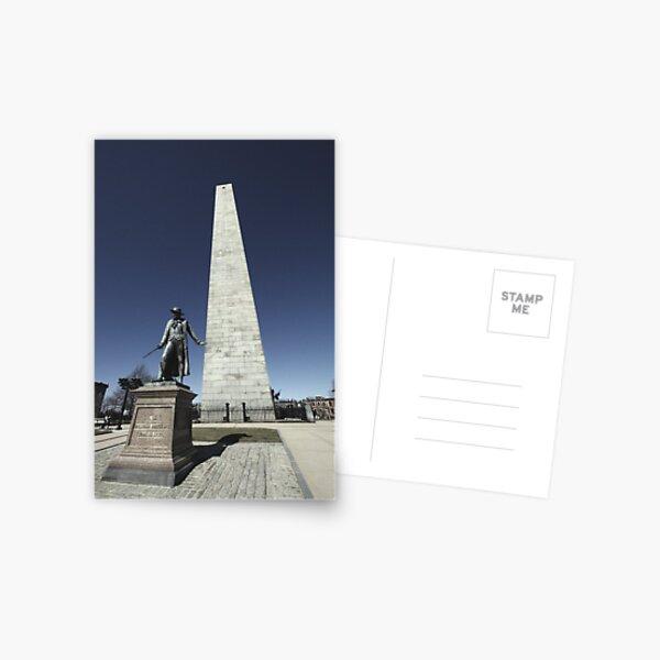 Bunker Hill Monument Postcard
