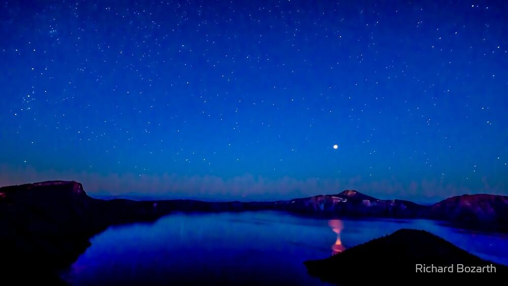 Crater Lake #110 by Richard Bozarth