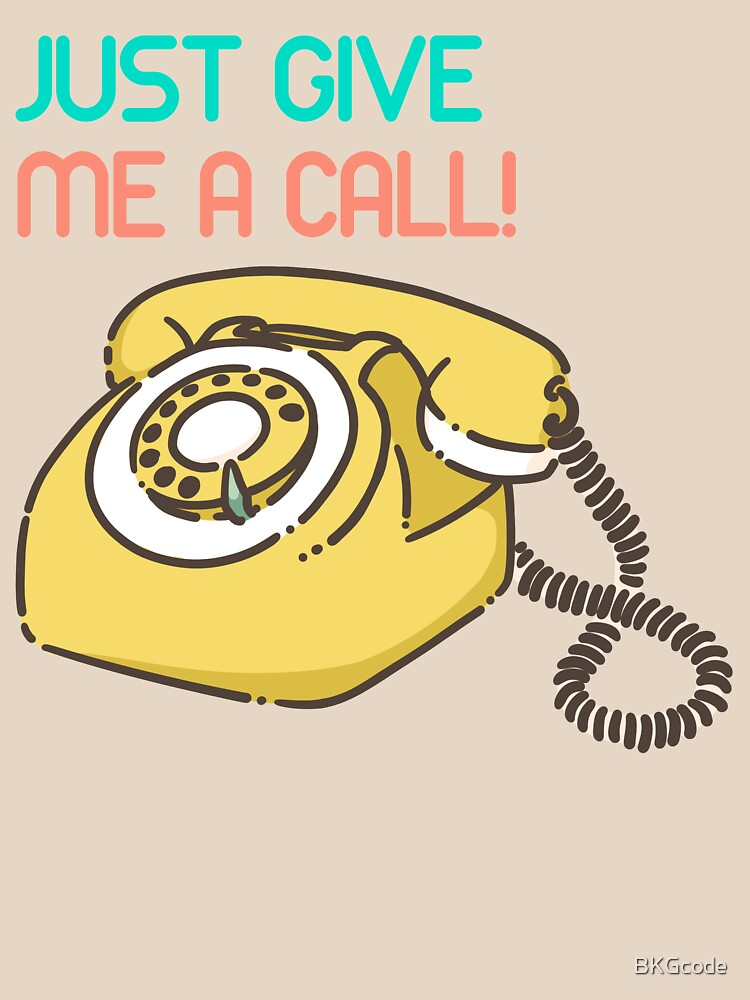 Just give me a call! de BKGcode