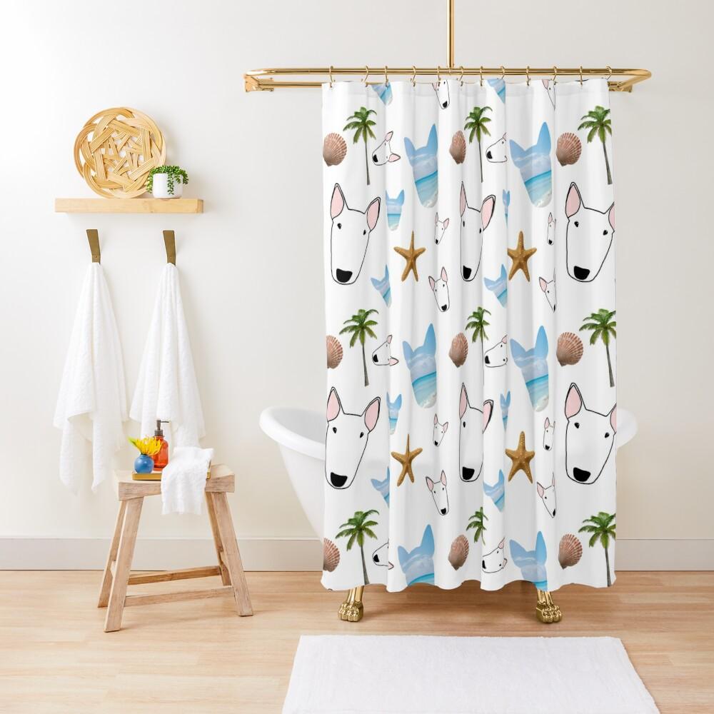 Maldives Bully Shower Curtain