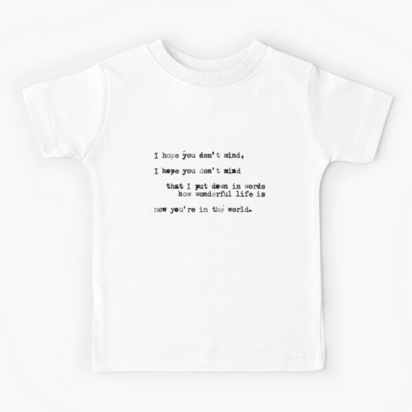 Your Song Kids T-Shirt
