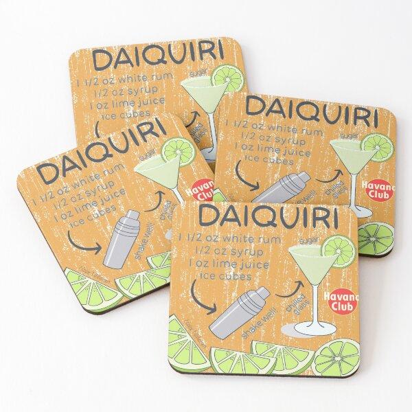 Daiquiri Coasters (Set of 4)