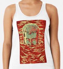 I am sinking here Racerback Tank Top