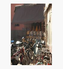 Bikes for Hire. Photographic Print