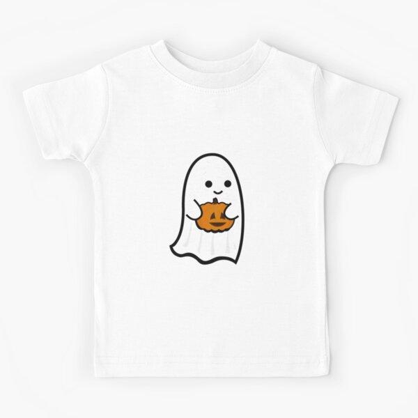 Cute Ghost's Jack o' Lantern Kids T-Shirt