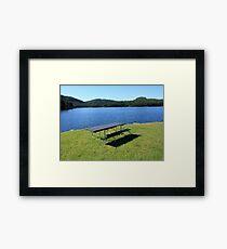 Lake In The Black Hills Framed Print
