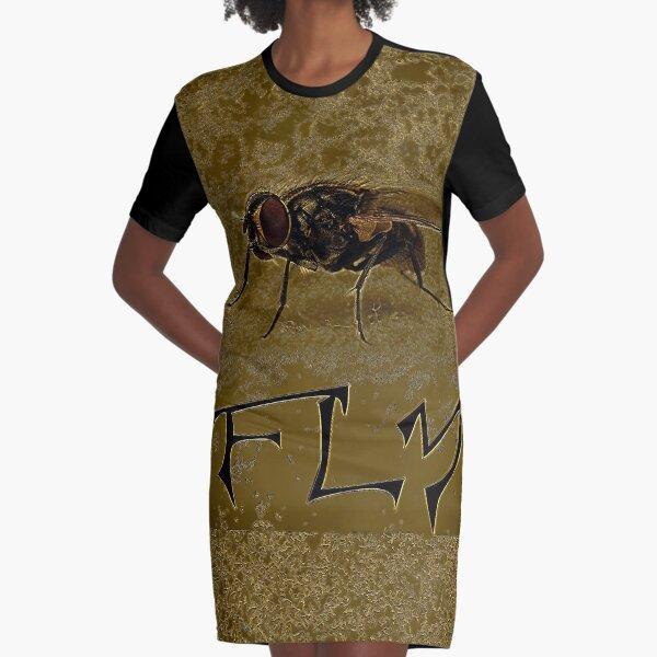 FLIEGE FLIEGE GOLD T-Shirt Kleid