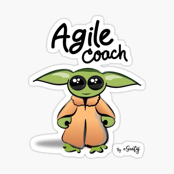 Baby Agile Coach Sticker