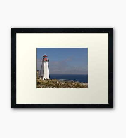 Lighthouse, Chebucto Head Framed Print
