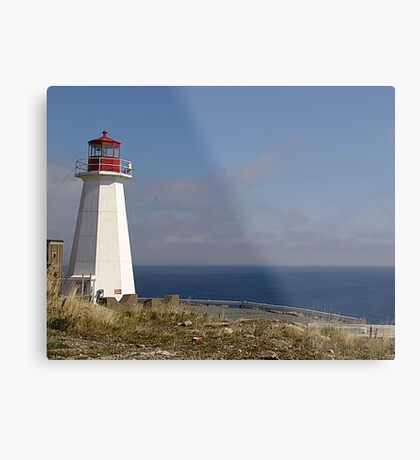 Lighthouse, Chebucto Head Metal Print