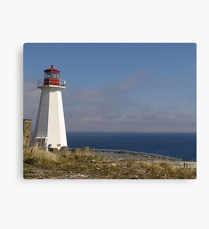 Lighthouse, Chebucto Head Canvas Print