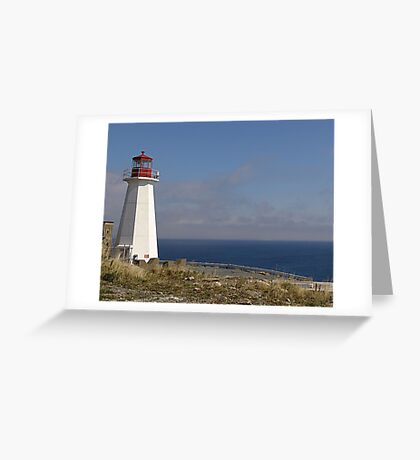Lighthouse, Chebucto Head Greeting Card