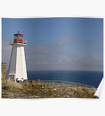 Lighthouse, Chebucto Head Poster