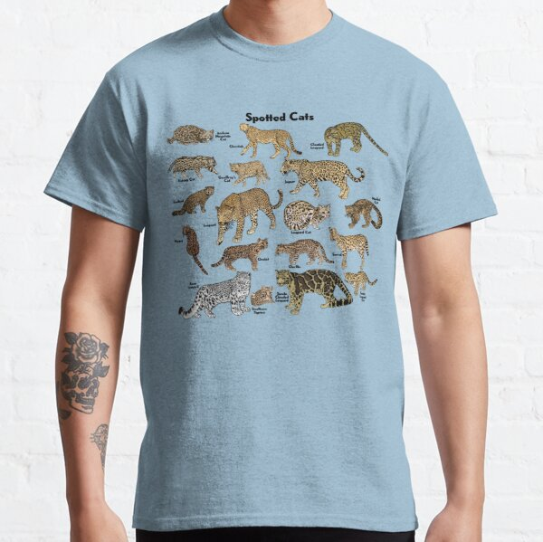 Spotted Cats Classic T-Shirt