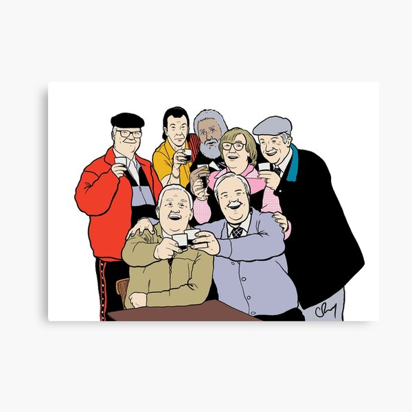 Still Game (Colour) Canvas Print