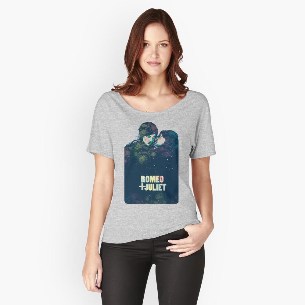 Camiseta ancha para mujerRomeo + Julieta Delante