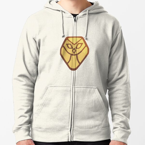 The Owl House - Logo Sudadera con capucha y cremallera