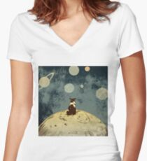 Endless opportunities  Women's Fitted V-Neck T-Shirt