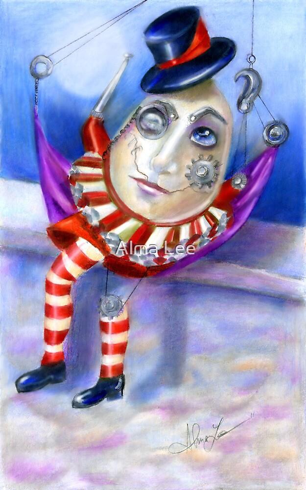 Humpty Dumpty Steampunk by Alma Lee