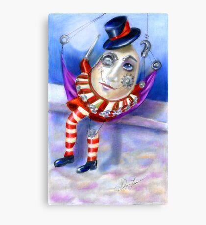 Humpty Dumpty Steampunk Canvas Print