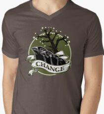 Darwin's Finches Men's V-Neck T-Shirt