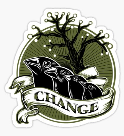 Darwin's Finches Sticker