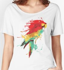 Splash The Parrot.. Women's Relaxed Fit T-Shirt