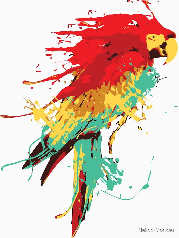 Splash The Parrot.. | Unisex T-Shirt