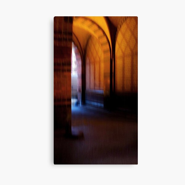 Blurred Stralsund.....A small Town at the Baltic Sea Canvas Print