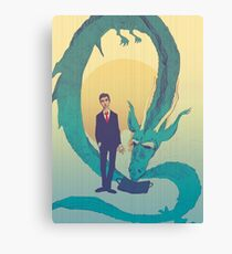 Me  and  the  dragon! Canvas Print