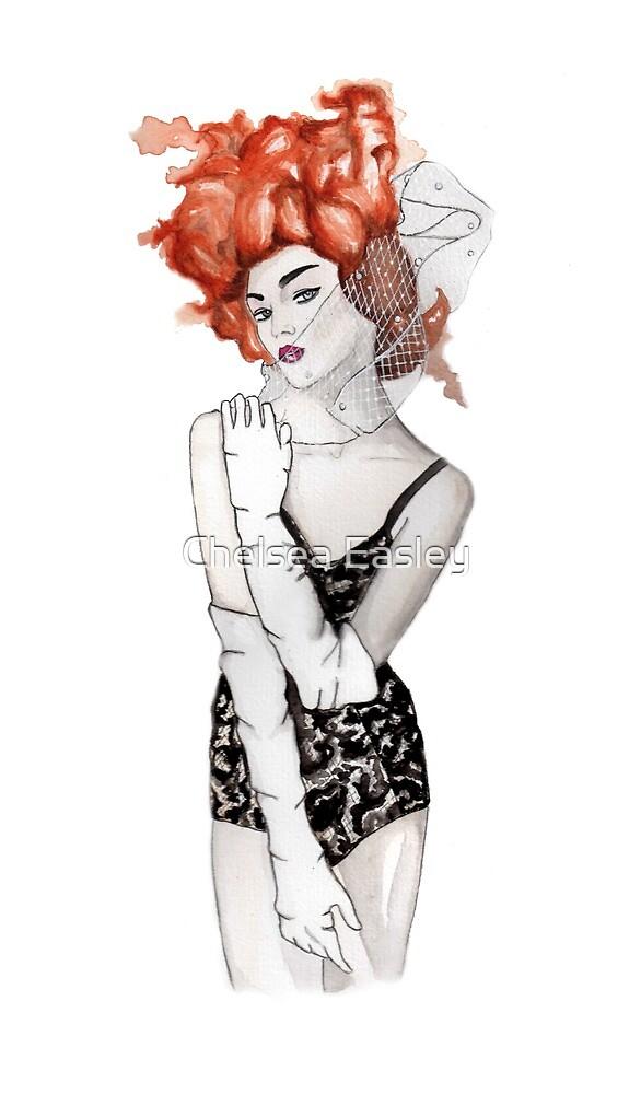 Leila Fashion Illustration by Chelsea Easley