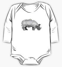 Rhino Love 2 One Piece - Long Sleeve