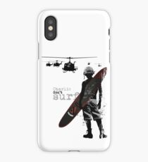 Charlie Don't Surf iPhone Case/Skin