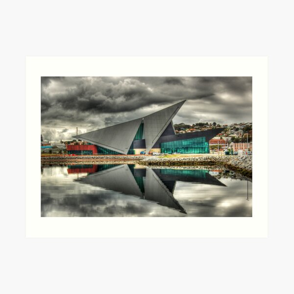 Albany Entertainment Centre Reflection Art Print