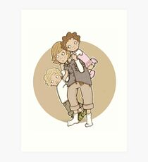 siblings Art Print
