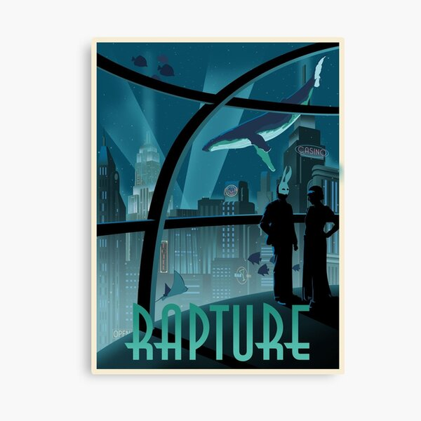 Bioshock Rapture Poster Canvas Print