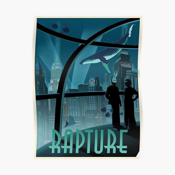Affiche Rapture Bioshock Poster