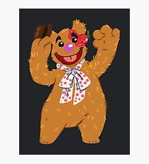 Septembear: Fozzie  Photographic Print