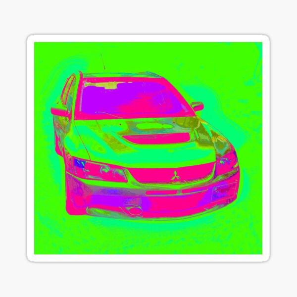 2006 Mitsubishi Lancer Evolution 9 Edition 14 Sticker
